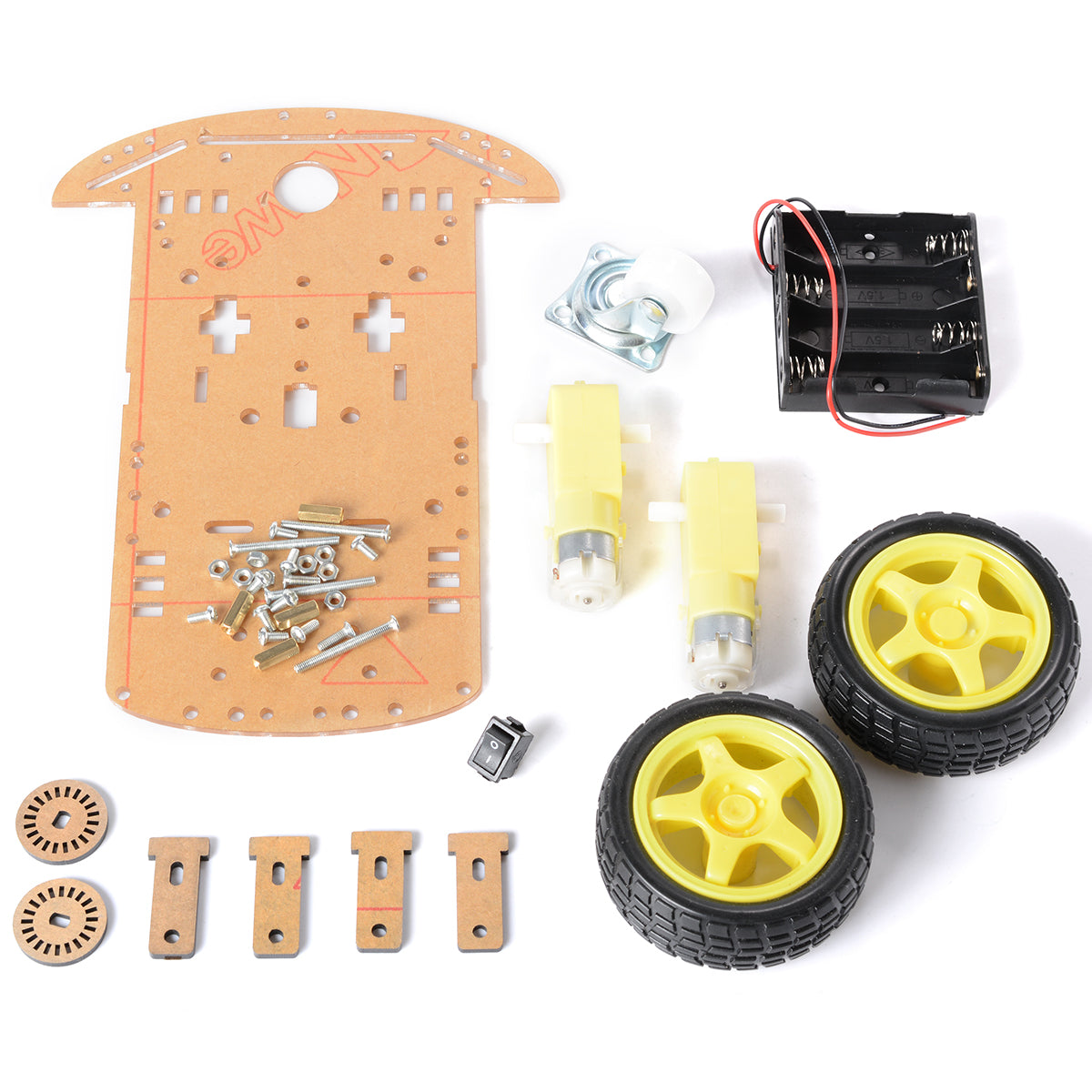 Smart Robot Car Chassis Kit - 2Wheel