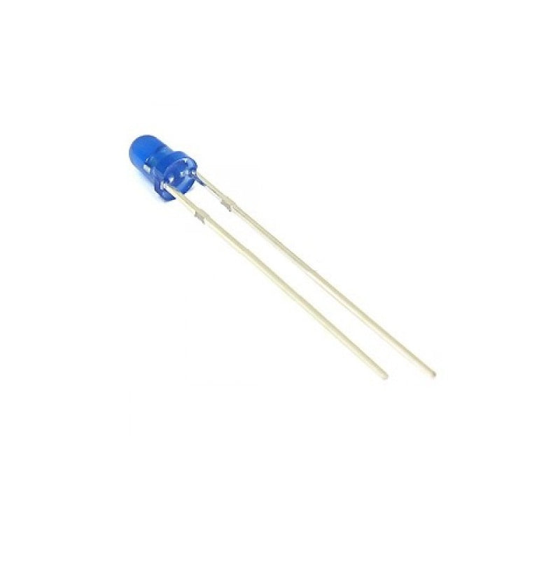 3mm Round DIP Blue  LED
