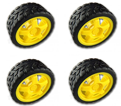 Pack of 4 - BO Wheel Yellow