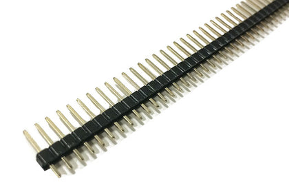 Male Headers Berg Strip - 40 pins