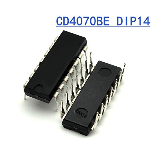 CD4070 Quad 2-Input Exclusive-OR (XOR) Gate IC