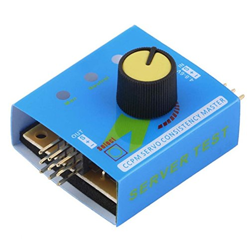 Multi Servo Tester 3CH ECS Consistency Speed Controller Power Channels CCPM Meter