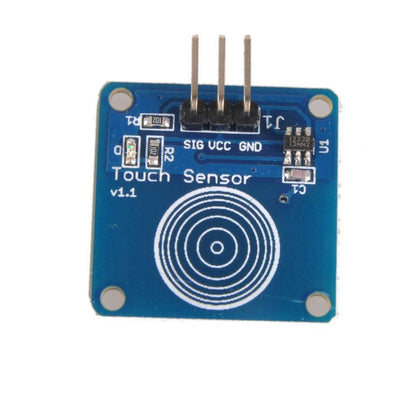 TTP223 - 1 Channel Capacitive Touch Sensor Module