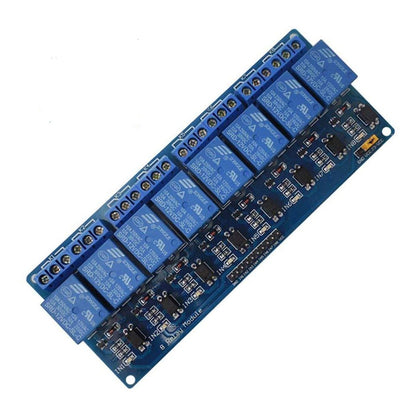 8 Channel 12V Relay  Module With Optocoupler