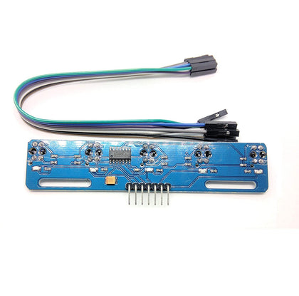 5 Channel IR Infrared CTRT5000 Line Detection Module Line Follower Sensor for Arduino