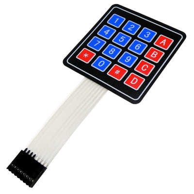 4×4 Matrix Keypad Membrane Switch for Arduino, ARM and other MCU