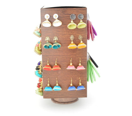 Earrings Display Jewelry  Hanging Rotating Stands
