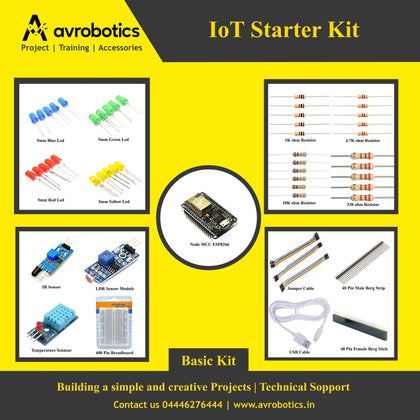 11 in 1 Basic IoT Starter Kit