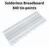 840 Tie-Points Solderless Breadboard