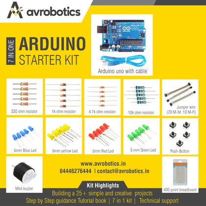 Arduino Basic Starter Kit - 1