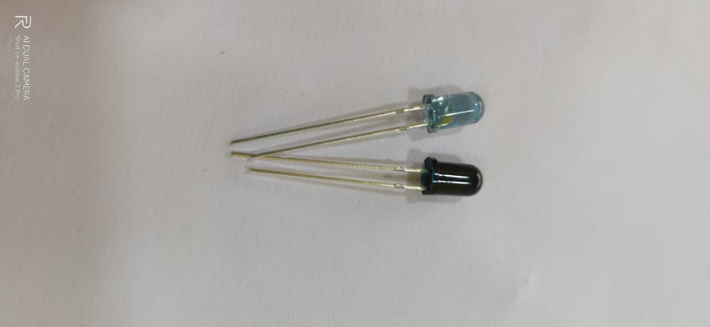 5mm IR Transmitter Receiver Pair
