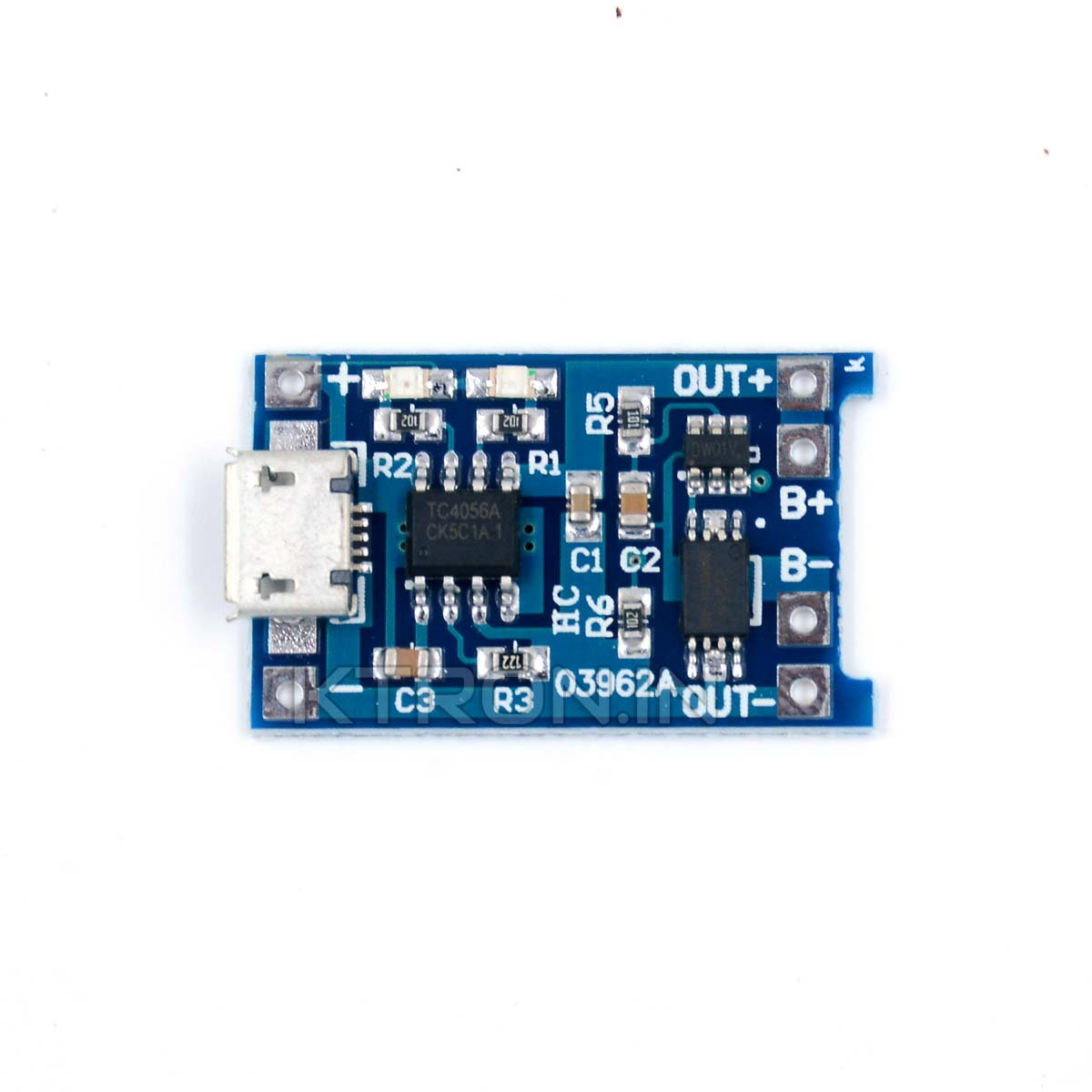 TP4056 Lithium Ion Battery Charging Module with Protection