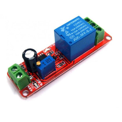 NE555 Delay Timer Switch Adjustable 12V Relay Module