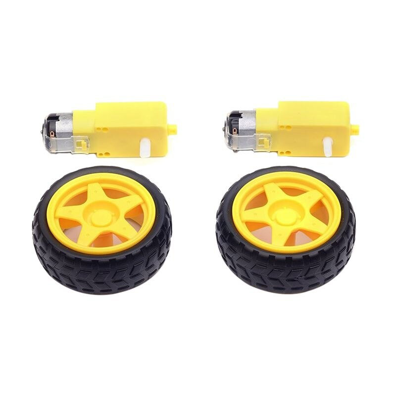 pack of 2 Bo wheel and Bo Motor