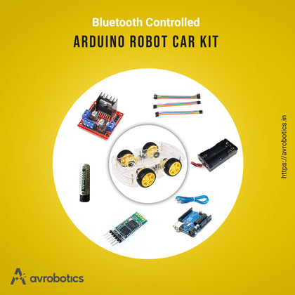 Bluetooth controlled Smart Robot Car DIY kit