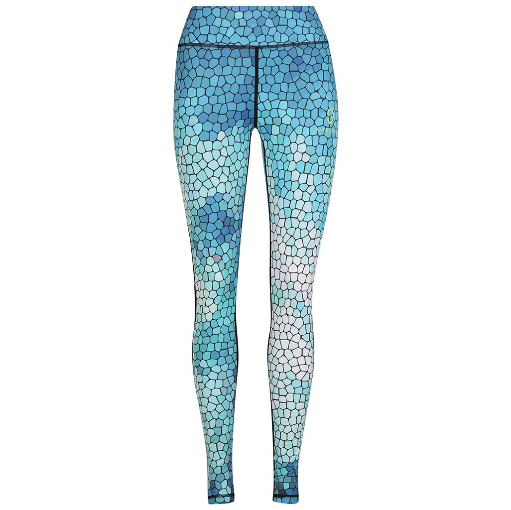 MOSAIC SKY COMPRESSION LEGGINGS