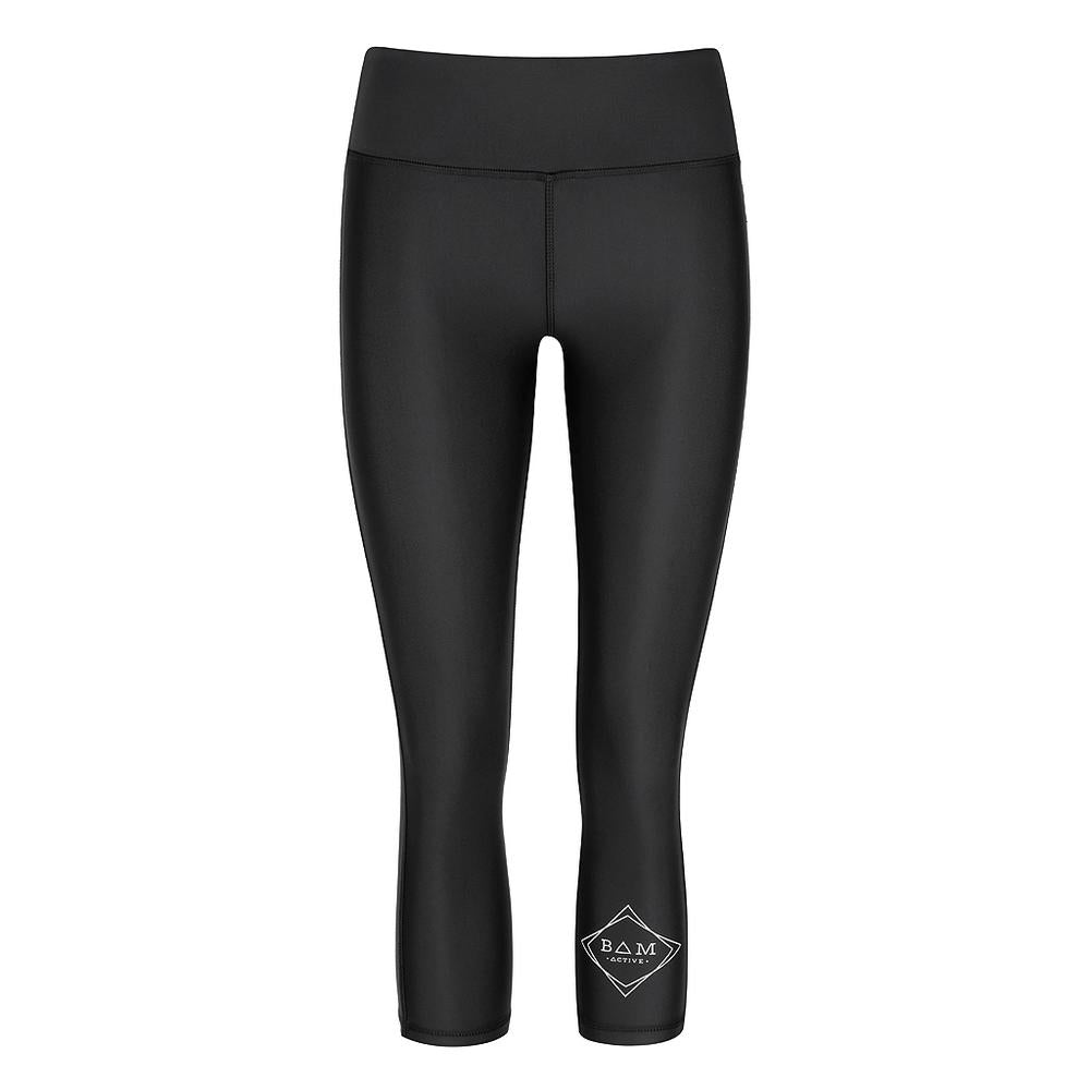 ACHIEVE 3/4 TIGHTS - BLACK