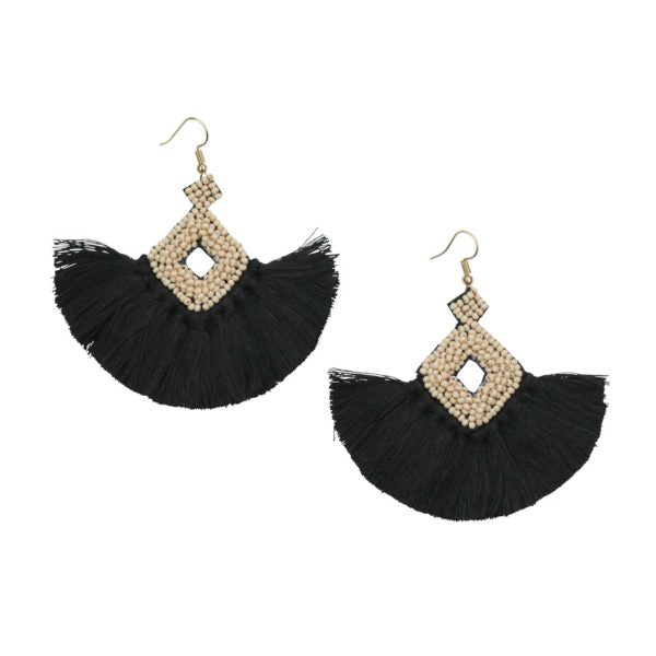 DIAMON BEAD EARRING
