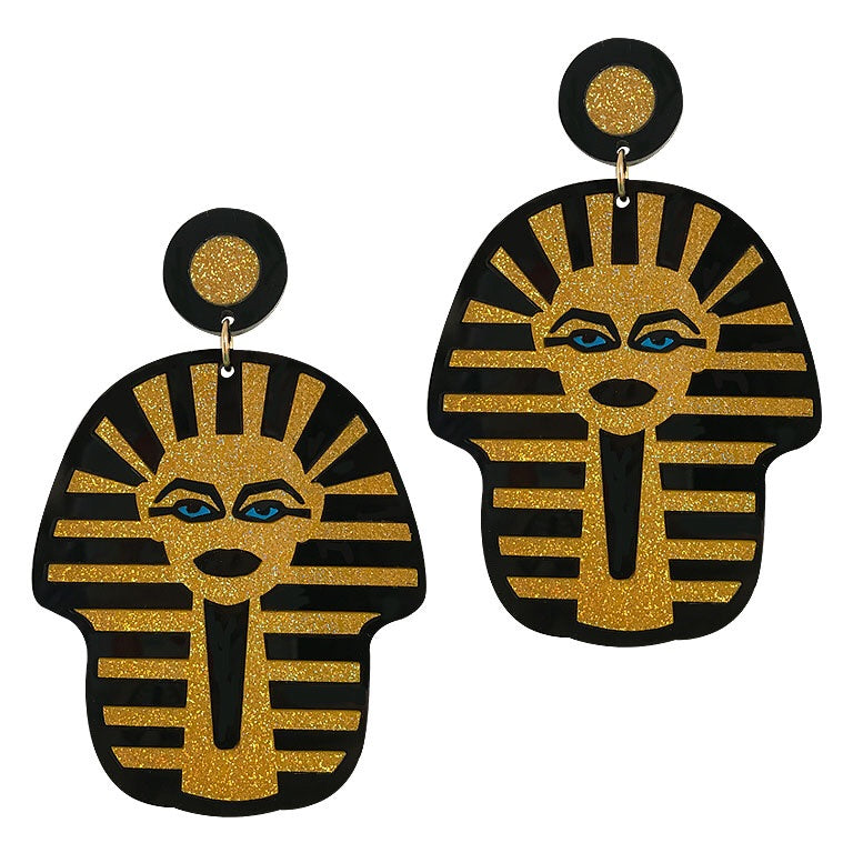 GOLD WOAH PHARAOH EARRINGS