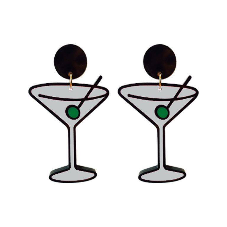 SHAKEN NOT STIRRED EARRINGS