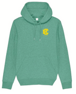 Hoodie Teens Mid Heather Green