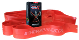 Fitness Sport Thera Band CLX mit Schlaufen rot