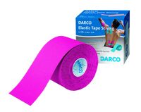 Fitness Sport Tapes MECRON Elastic Tape Strong Darco pink