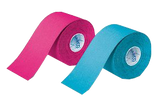 Fitness Sport Tapes MECRON Elastic Tape Strong Darco pink und türkis