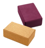 Fitness Sport Yoga Matte Block Sissel bordeaux