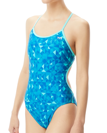 TYR Women's Optic Crosscutfit Tieback Swimsuit
