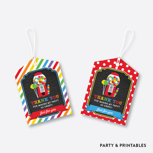 Sweet Shoppe Chalkboard Favor Tags / Non-Personalized / Instant Download (CKB.84)