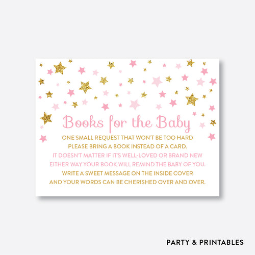 Twinkle Twinkle Little Star Books For The Baby / Non-Personalized / Instant Download (GBS.05)