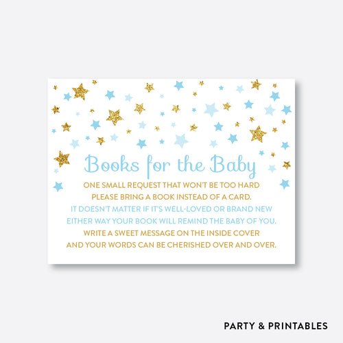 Twinkle Twinkle Little Star Books For The Baby / Non-Personalized / Instant Download (GBS.06)