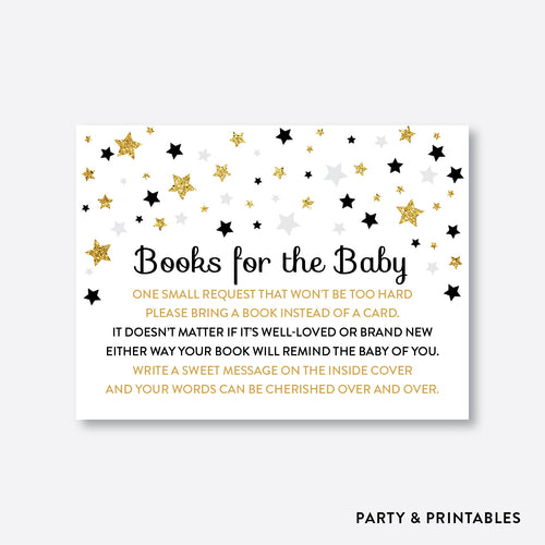 Twinkle Twinkle Little Star Books For The Baby / Non-Personalized / Instant Download (GBS.07)