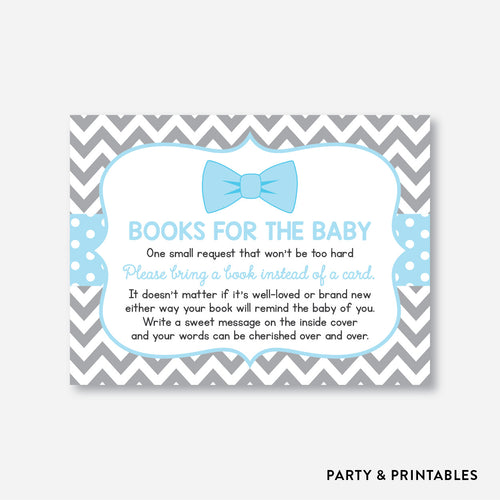 Bow Tie Books For The Baby / Non-Personalized / Instant Download (SBS.26)