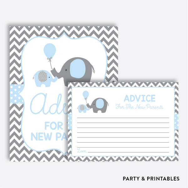 Elephant Advice For The Mommy To Be / Non-Personalized / Instant Download (SBS.35)