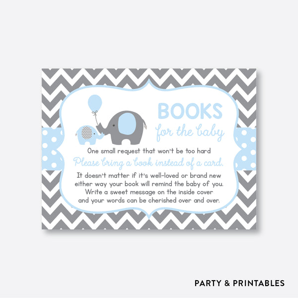 Elephant Books For The Baby / Non-Personalized / Instant Download (SBS.35)