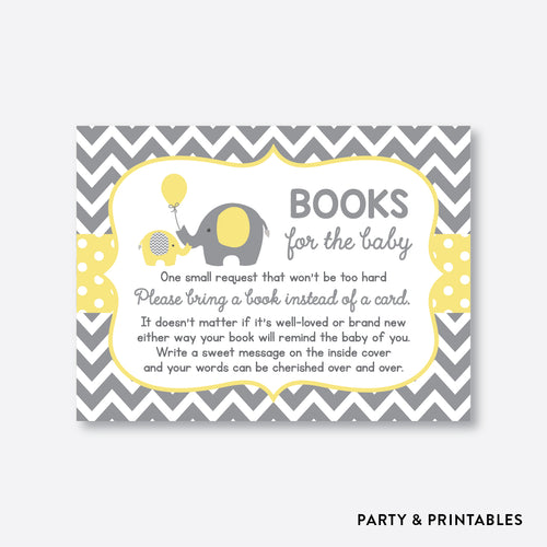Elephant Books For The Baby / Non-Personalized / Instant Download (SBS.37)