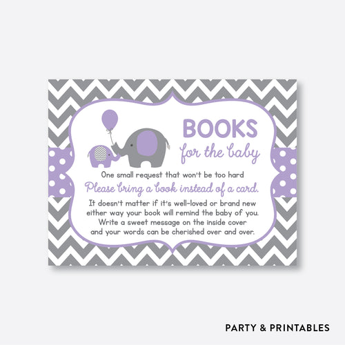 Elephant Books For The Baby / Non-Personalized / Instant Download (SBS.38)