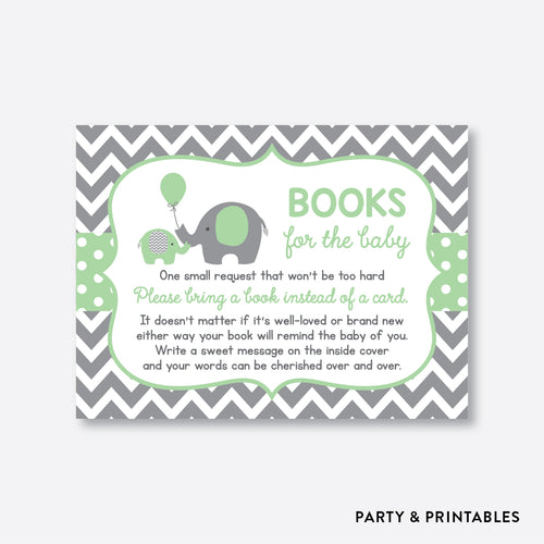 Elephant Books For The Baby / Non-Personalized / Instant Download (SBS.40)