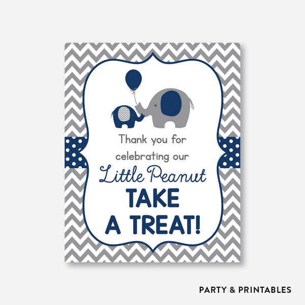Elephant Party Signs / Non-Personalized / Instant Download (SBS.41)