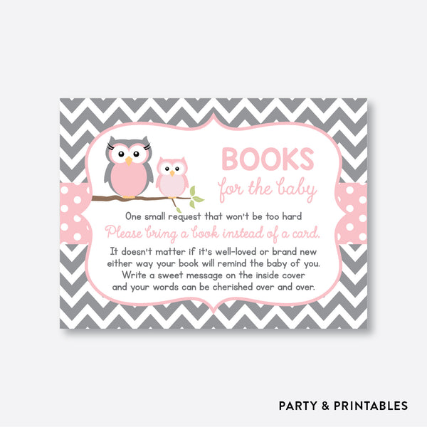 Owl Books For The Baby / Non-Personalized / Instant Download (SBS.44)