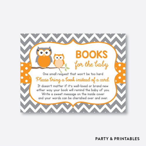 Owl Books For The Baby / Non-Personalized / Instant Download (SBS.47)