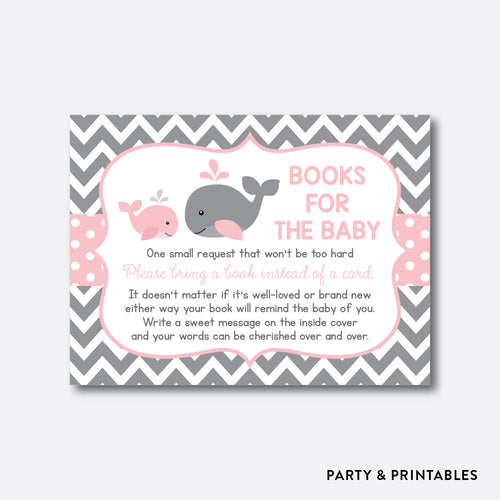 Whale Books For The Baby / Non-Personalized / Instant Download (SBS.52)