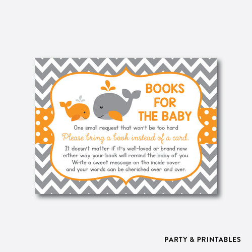Whale Books For The Baby / Non-Personalized / Instant Download (SBS.55)