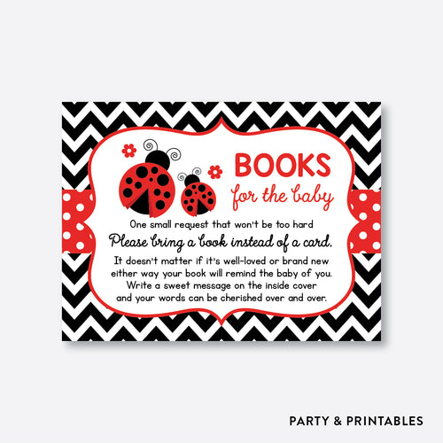 Ladybug Books For The Baby / Non-Personalized / Instant Download (SBS.96)