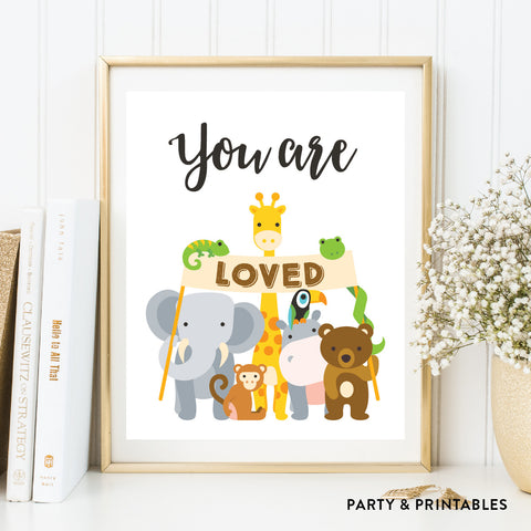 You Are Loved Wall Art / Instant Download (WA.11)