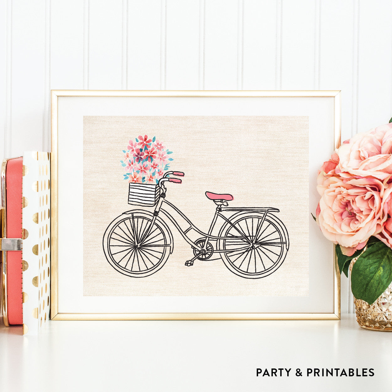 Bicycle Wall Art / Instant Download (WA.33), wall art - Party and Printables