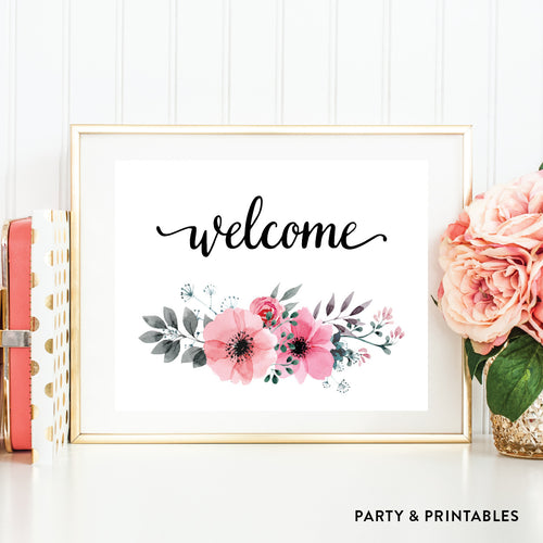 Welcome Wall Art / Instant Download (WA.40)