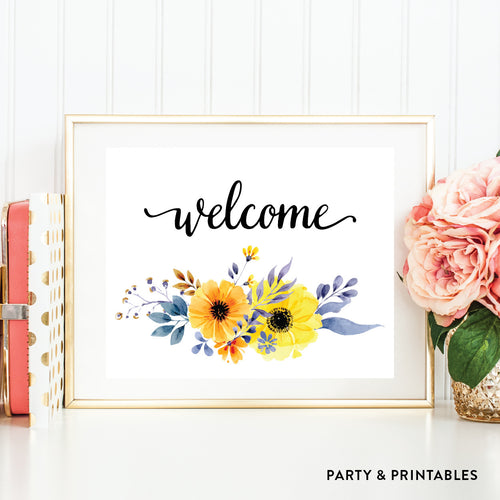 Welcome Wall Art / Instant Download (WA.41)